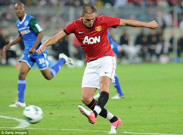Frotnman: Federio Macheda is being offered a route of Old Trafford by clubs in Italy and the Championship