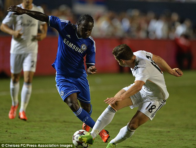 Victor Moses In demand: Everton, Stoke and West Brom are all keen on securing Victor Moses' signature
