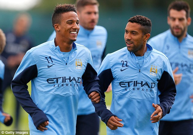 Scott Sinclair Permanent deal: Southampton are keen to buy Manchester City wide man Scott Sinclair