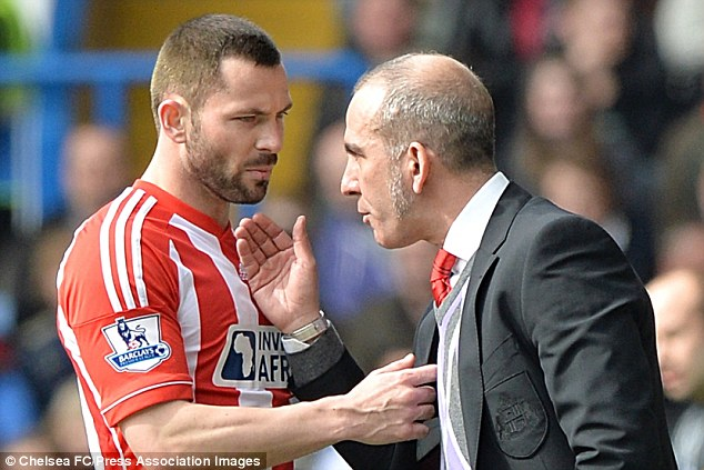 Frozen out: Defender Phil Bardsley has been suspended by Sunderland manager Paolo Di Canio