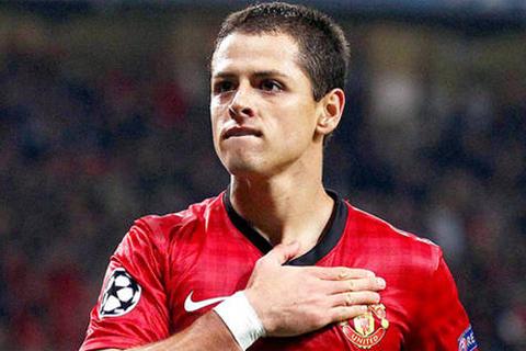Chicharito nằm ngoài Top 3 trong những sự lựa chọn cho hàng công của Man Utd lúc này.