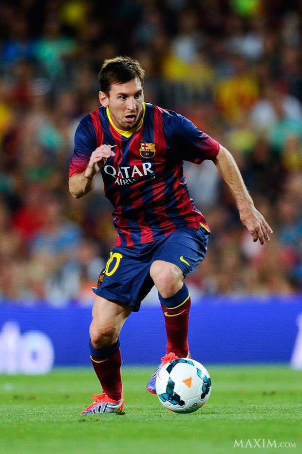 Messi nói về Ronaldo - Ảnh: Maxim