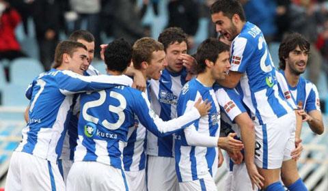 Sociedad đã tạo nên cú sốc trước Lyon