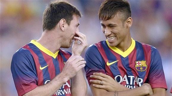 Messi và Neymar