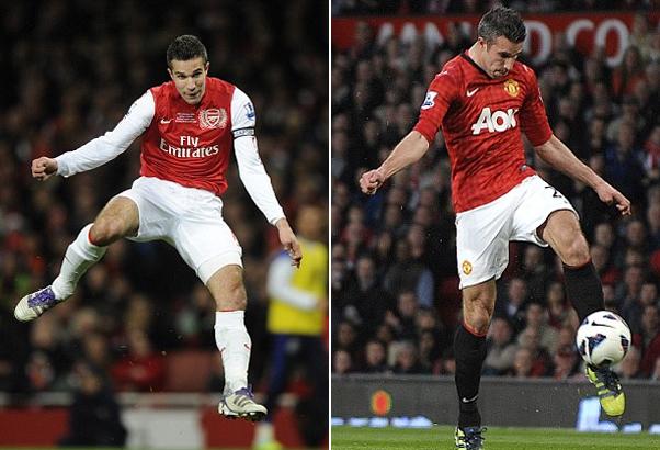 """Tháng 7/2012: Chủ tịch của Arsenal lúc đó, Peter Hill-Wood, tuyên bố: """"Chúng tôi không có chút mảy may nào nghĩ đến chuyện bán Robin van Persie"""". Ngày hôm sau, chân sút người Hà Lan thông báo trên trang cá nhân rằng anh sẽ không gia hạn hợp đồng với Arsenal, và một tháng sau anh đầu quân cho Man Utd trong vụ chuyển nhượng trị giá 24 triệu bảng."""