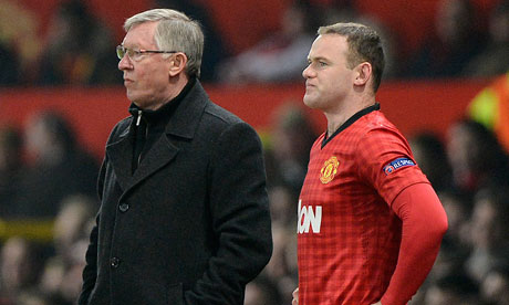 The relationship between Sir Alex Ferguson and Wayne Rooney at Manchester United collapsed last season. Photograph: Tom Jenkins for the Guardian