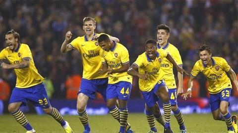 Arsenal sẽ gặp Chelsea ở vòng 4