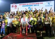Kết thúc V-League 2013: Hà Nội T&T đăng quang V-League 2013