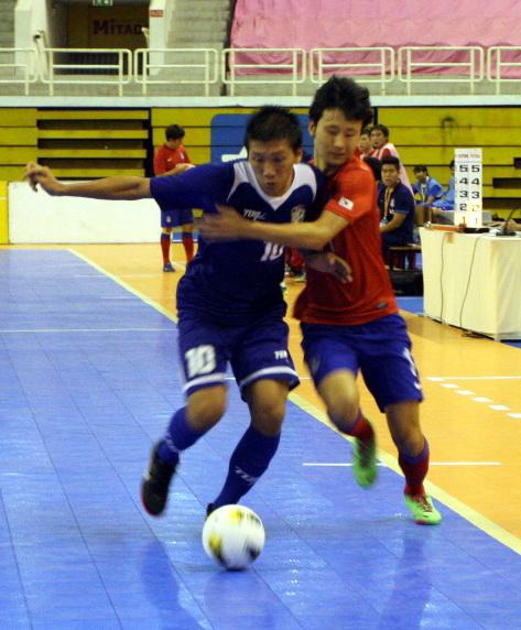 Đài Bắc (trái) giành chiến thắng trước Hàn Quốc