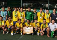 Ho Chi Minh Physics and Sporting Games – Football program 2013: Tan Phu to face Thai Son Nam Dist.8 in the final game