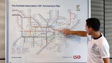FA đổi tên lại toàn bộ bản đồ của hệ thống tàu điện ngầm ở London