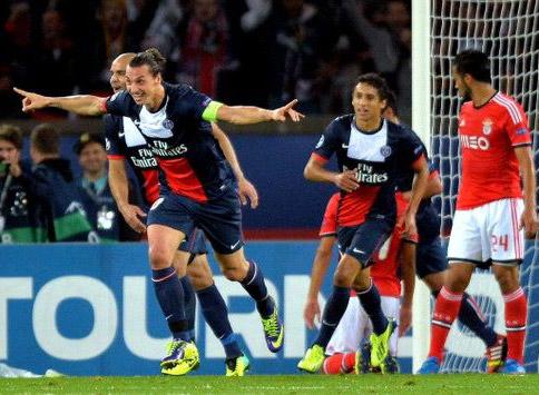 Đẳng cấp của các ngôi sao như Ibra là sự khác biệt giữa PSG và Benfica.