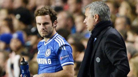 Mata có thể rời Chelsea ngay tháng 1/2014