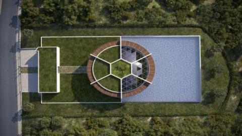 Ngôi biệt thự trong tương lai của Messi