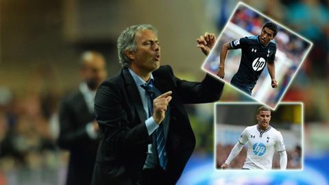 Mourinho muốn có bộ đôi của Tottenham