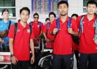 Thai Futsal Team has arrived Viet Nam