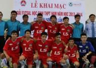 Kick off Highschool Futsal Tournament – Thai Son Nam Cup 2013