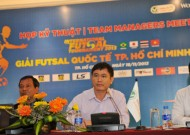 """HFF President Tran Anh Tu: """"Viet Nam's Futsal meets chance to exchange, experience from teams of developed futsal country"""""""