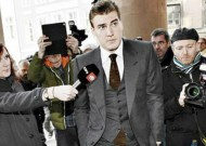 Nicklas Bendtner ARRESTED! Flop Arsenal striker has brush with police over criminal damage