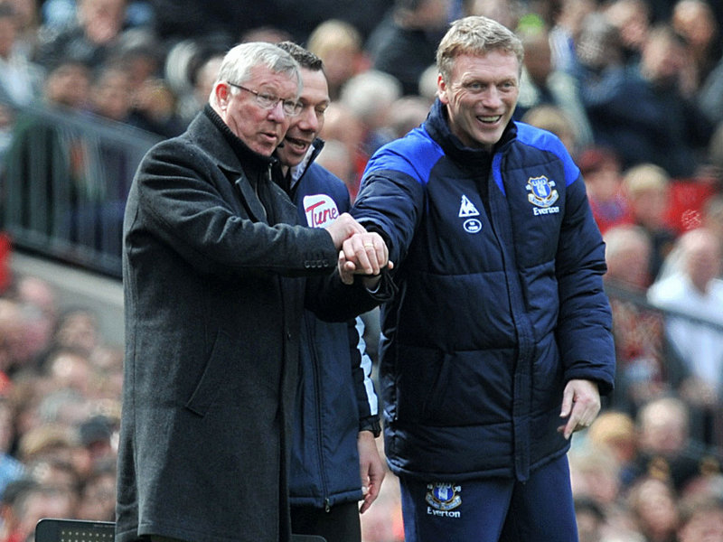 After over 10 years at Everton and a seventh place finish in 2011-12 which was their sixth successive top-half finish, Moyes moved on to Old Trafford