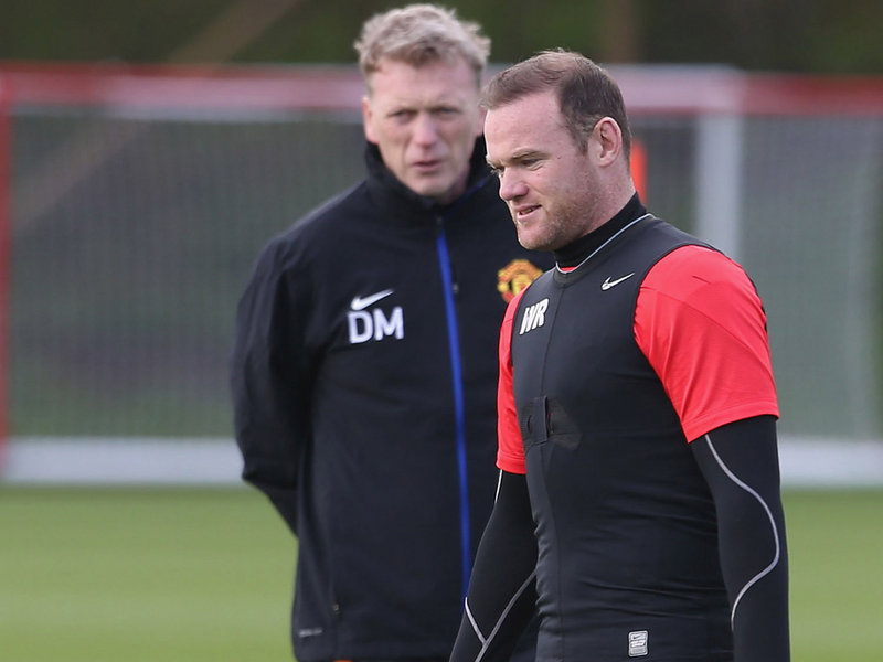 One of his few successes at Old Trafford was persuading Wayne Rooney to sign a new deal