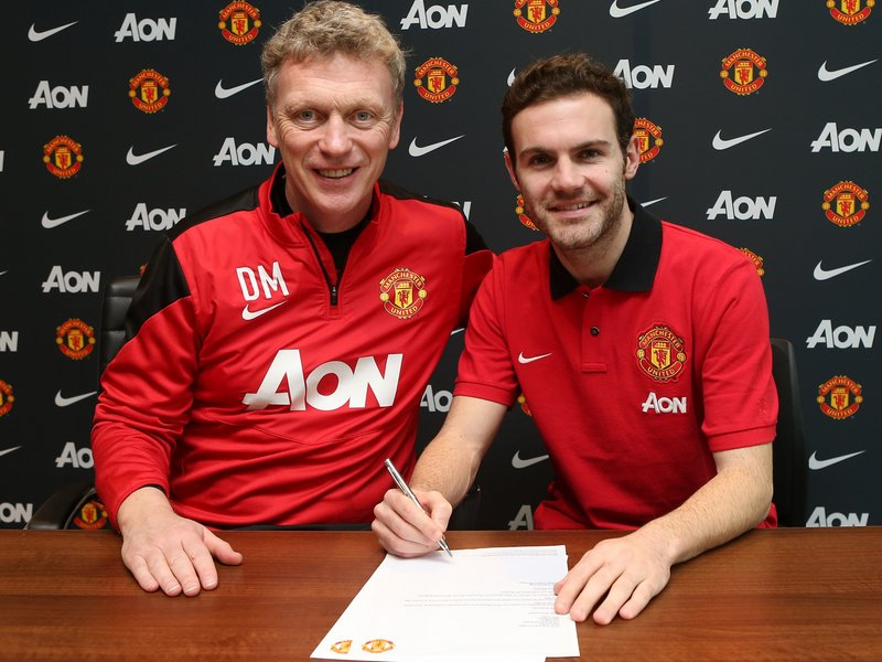 Moyes brought in Juan Mata from Chelsea for a hefty fee - but the Spaniard has struggled