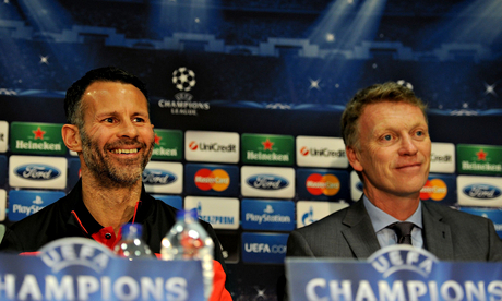 David Moyes and Ryan Giggs