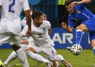 England 1 Italy 2 - Group D in pictures