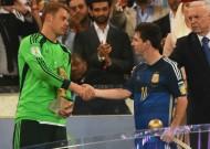 Maradona questions Messi FIFA award