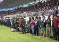 Fans jostle to watch Arsenal-supported academy players in Vietnam league