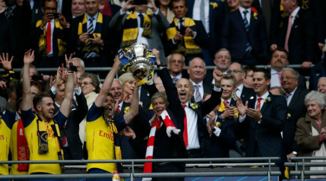 The 2015 FA Cup final: Arsenal v Aston Villa - in pictures