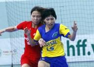 Final round of 2015 HCMC women's futsal open tournament - LS Cup