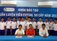 Khai giảng lớp HLV Futsal sơ cấp lần III - 2015