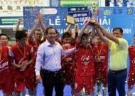 End of HCM B division Futsal tournament: Le Bao Minh Team to crown the championship