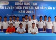 Khai giảng Khóa đào tạo HLV Futsal sơ cấp lần IV năm 2015.