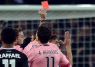 Borussia Monchengladbach 1-1 Juventus: Hernanes sent off as Bianconeri are held in Germany