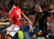 Benfica 2-1 Galatasaray: Luisao wins it for hosts after Podolski equaliser
