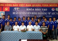 To end of 2015 grade B - AFC Coaching course