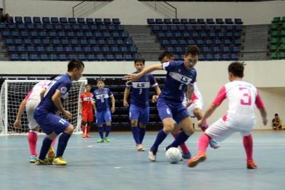 Thái Sơn Nam (xanh) gianh chiến thắng trước Hoàng Thư Đà Nẵng, lên ngôi đầu bảng