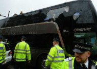 Man Utd bus 'smashed up' before West Ham game