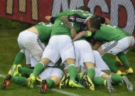 Northern Ireland get first Euro points after win over Ukraine