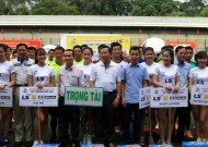 To Kick off Ho Chi Minh City Journalist association futsal tournament - 2016 Thai Son Nam Cup