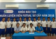 Khai giảng khóa đào tạo HLV futsal sơ cấp 2016