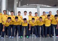 Đội tuyển futsal Việt Nam sang Trung Quốc đá giải tứ hùng quốc tế với 14 cầu thủ
