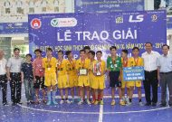 Kết quả giải futsal học sinh THCS TPHCM năm học 2016 - 2017, cúp Thái Sơn Nam lần 9