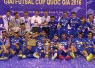 Clip Thái Sơn Nam vô địch Cúp Quốc gia 2016