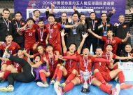 Hoà Trung Quốc, đội tuyển futsal Việt Nam giành ngôi á quân tại giải tứ hùng quốc tế