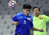 Đội tuyển futsal Việt Nam tập buổi đầu tiên trên đất khách