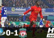 Thắng trận derby, Liverpool lấy lại vị trí thứ 2