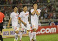 U23 Việt Nam đánh bại Malaysia trên sân Thống Nhất